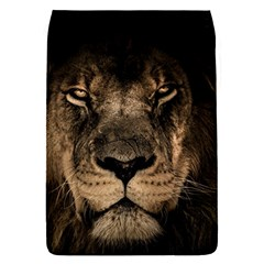African Lion Mane Close Eyes Flap Covers (s)