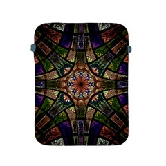 Fractal Detail Elements Pattern Apple Ipad 2/3/4 Protective Soft Cases