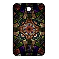 Fractal Detail Elements Pattern Samsung Galaxy Tab 3 (7 ) P3200 Hardshell Case