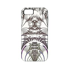 Fractal Delicate Intricate Apple Iphone 5 Classic Hardshell Case (pc+silicone)