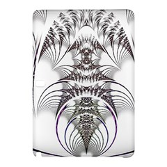 Fractal Delicate Intricate Samsung Galaxy Tab Pro 10 1 Hardshell Case