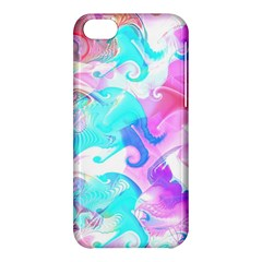 Background Art Abstract Watercolor Apple Iphone 5c Hardshell Case