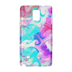 Background Art Abstract Watercolor Samsung Galaxy Note 4 Hardshell Case