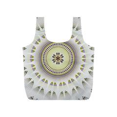 Mandala Fractal Decorative Full Print Recycle Bags (s)