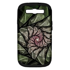 Fractal Flowers Floral Fractal Art Samsung Galaxy S Iii Hardshell Case (pc+silicone)