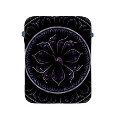 Fractal Abstract Purple Majesty Apple Ipad 2/3/4 Protective Soft Cases