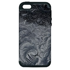 Abstract Art Decoration Design Apple Iphone 5 Hardshell Case (pc+silicone)