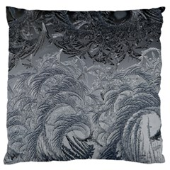 Abstract Art Decoration Design Large Flano Cushion Case (one Side)