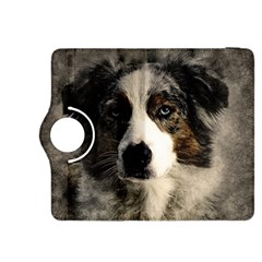Dog Pet Art Abstract Vintage Kindle Fire Hdx 8 9  Flip 360 Case