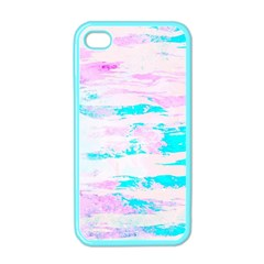 Background Art Abstract Watercolor Apple Iphone 4 Case (color)