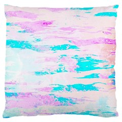 Background Art Abstract Watercolor Large Cushion Case (two Sides)