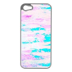 Background Art Abstract Watercolor Apple Iphone 5 Case (silver)