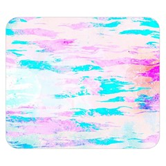 Background Art Abstract Watercolor Double Sided Flano Blanket (small)