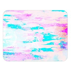 Background Art Abstract Watercolor Double Sided Flano Blanket (large)