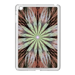 Fractal Floral Fantasy Flower Apple Ipad Mini Case (white)