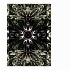 Fractal Design Pattern Texture Large Garden Flag (two Sides)