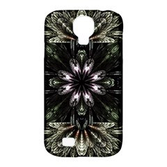 Fractal Design Pattern Texture Samsung Galaxy S4 Classic Hardshell Case (pc+silicone)