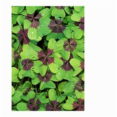 Luck Klee Lucky Clover Vierblattrig Small Garden Flag (two Sides)