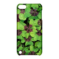 Luck Klee Lucky Clover Vierblattrig Apple Ipod Touch 5 Hardshell Case With Stand
