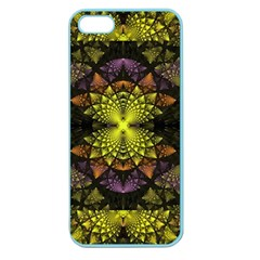 Fractal Multi Color Geometry Apple Seamless Iphone 5 Case (color)