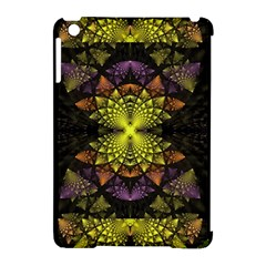 Fractal Multi Color Geometry Apple Ipad Mini Hardshell Case (compatible With Smart Cover)