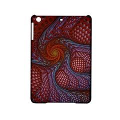 Fractal Red Fractal Art Digital Art Ipad Mini 2 Hardshell Cases