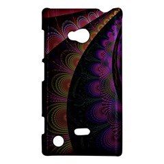 Fractal Colorful Pattern Spiral Nokia Lumia 720