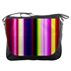 Abstract Background Pattern Textile 2 Messenger Bags
