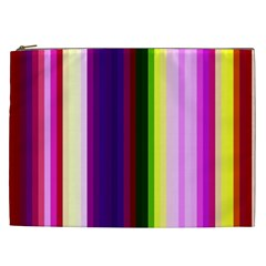 Abstract Background Pattern Textile 2 Cosmetic Bag (xxl)