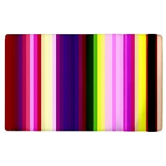 Abstract Background Pattern Textile 2 Apple Ipad 3/4 Flip Case