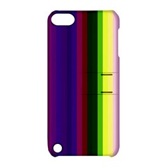 Abstract Background Pattern Textile 2 Apple Ipod Touch 5 Hardshell Case With Stand