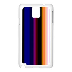 Abstract Background Pattern Textile 3 Samsung Galaxy Note 3 N9005 Case (white)