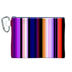 Abstract Background Pattern Textile 3 Canvas Cosmetic Bag (xl)