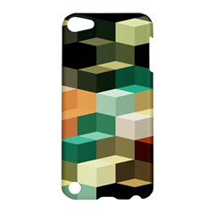 Art Design Color Pattern Creative 3d Apple Ipod Touch 5 Hardshell Case