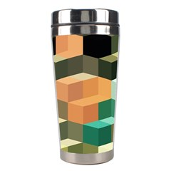 Art Design Color Pattern Creative 3d Stainless Steel Travel Tumblers