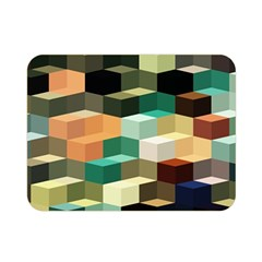 Art Design Color Pattern Creative 3d Double Sided Flano Blanket (mini)
