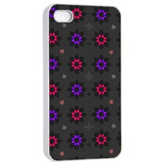 Funds Texture Pattern Color Apple Iphone 4/4s Seamless Case (white)
