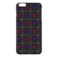 Funds Texture Pattern Color Apple Iphone 6 Plus/6s Plus Black Enamel Case