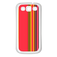 Abstract Background Pattern Textile Samsung Galaxy S3 Back Case (white)