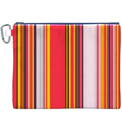 Abstract Background Pattern Textile Canvas Cosmetic Bag (xxxl)