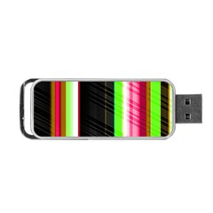 Abstract Background Pattern Textile Portable Usb Flash (one Side)