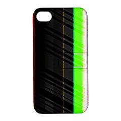 Abstract Background Pattern Textile Apple Iphone 4/4s Hardshell Case With Stand