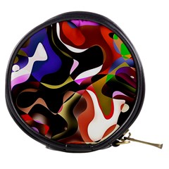 Abstract Background Design Art Mini Makeup Bags