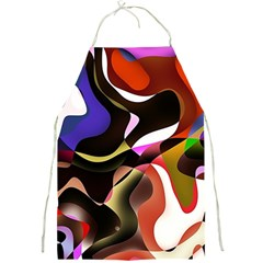 Abstract Background Design Art Full Print Aprons
