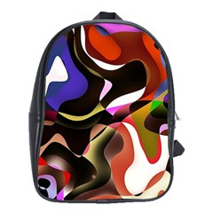 Abstract Background Design Art School Bag (xl)