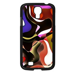 Abstract Background Design Art Samsung Galaxy S4 I9500/ I9505 Case (black)