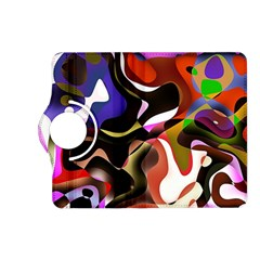 Abstract Background Design Art Kindle Fire Hd (2013) Flip 360 Case