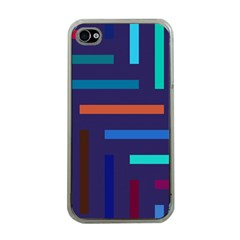 Lines Line Background Abstract Apple Iphone 4 Case (clear)