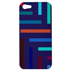 Lines Line Background Abstract Apple Iphone 5 Hardshell Case