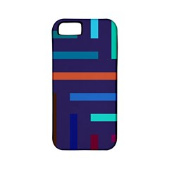 Lines Line Background Abstract Apple Iphone 5 Classic Hardshell Case (pc+silicone)